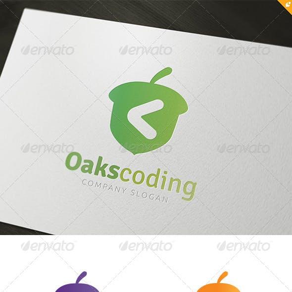 Oaks Coding Logo
