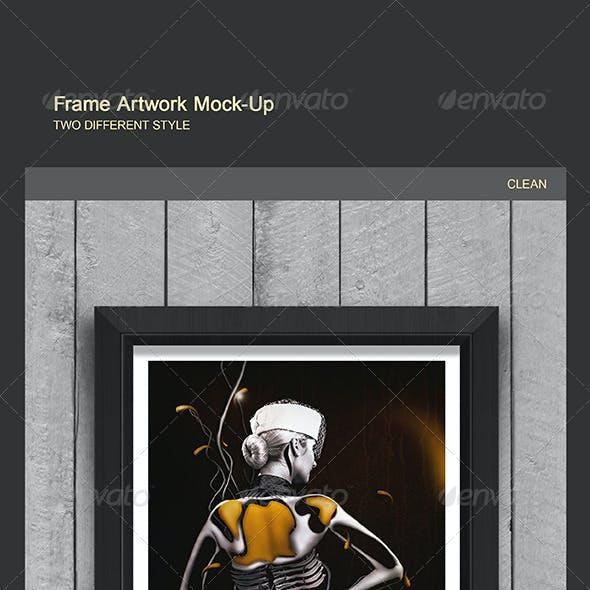 Frame Artwork Mockups