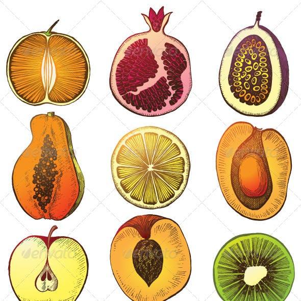 Fruit Halfs