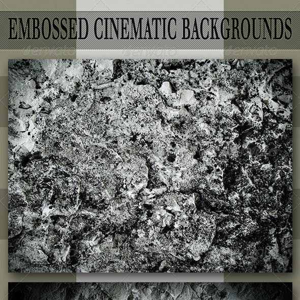 Embossed Cinematic Backgrounds
