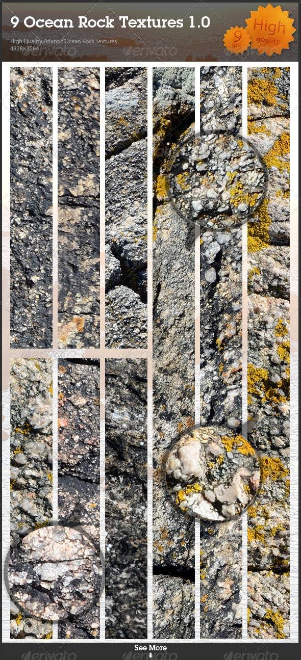9 Ocean Rock Textures 1.0 - Stone Textures
