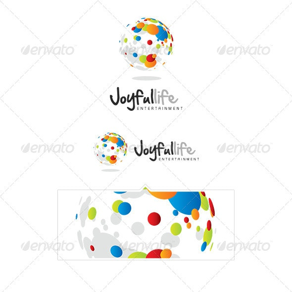 Joyfullife Logo Template - Vector Abstract