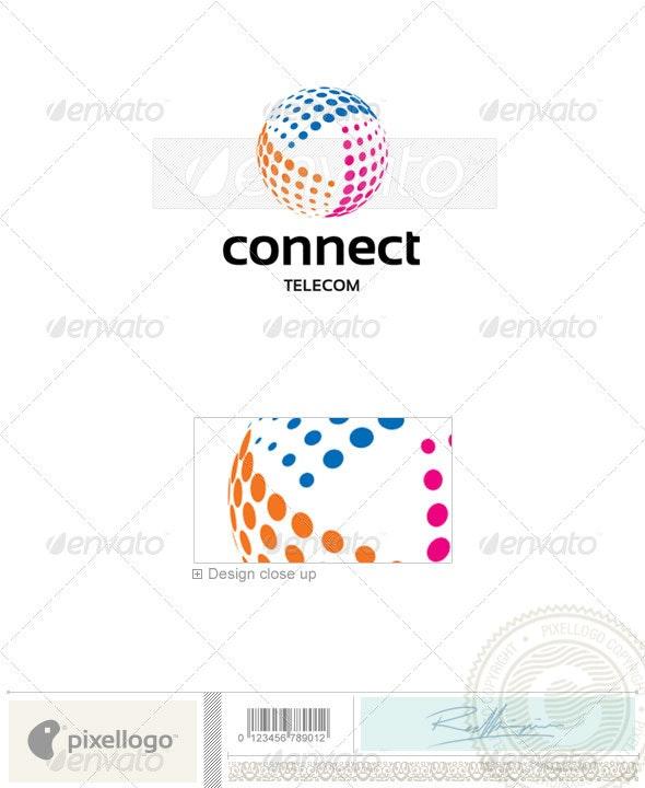 Telecom Logo - 2315 - Vector Abstract