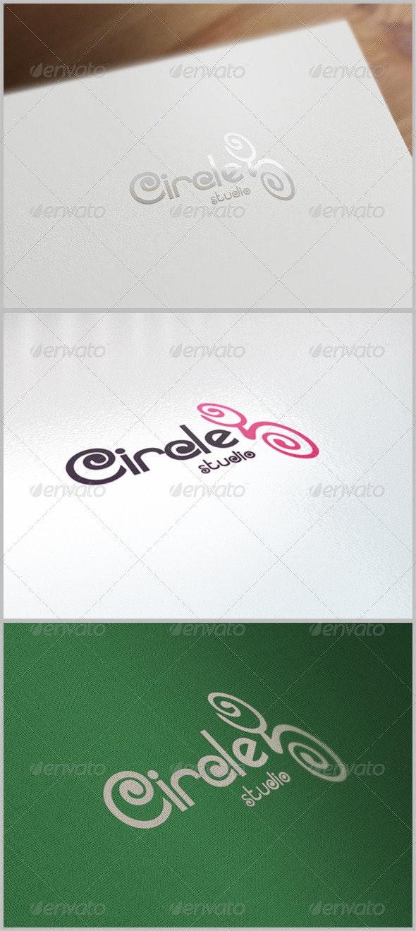 Circle Logo Template - Vector Abstract
