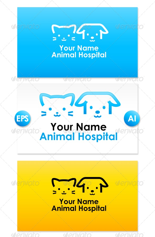 Animal Hospital Logo - Animals Logo Templates