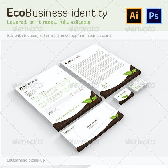 EcoBusiness Corporate Identity
