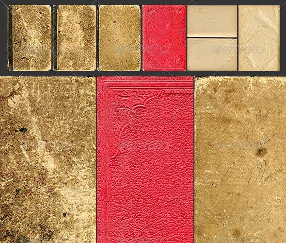 Old Books Texture Set - Miscellaneous Textures