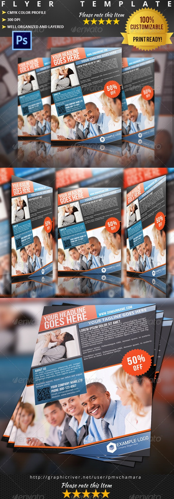 Insurance Flyer Template 03 - Corporate Flyers