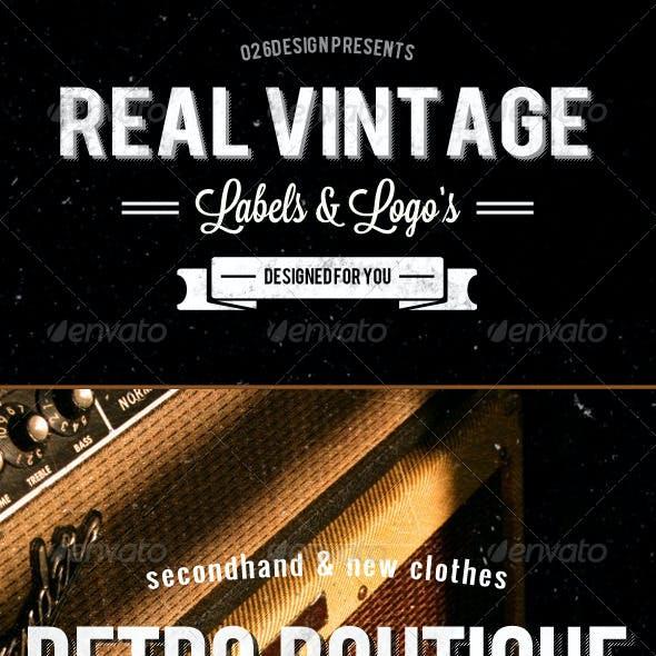Vintage Labels & Logos - Set 2