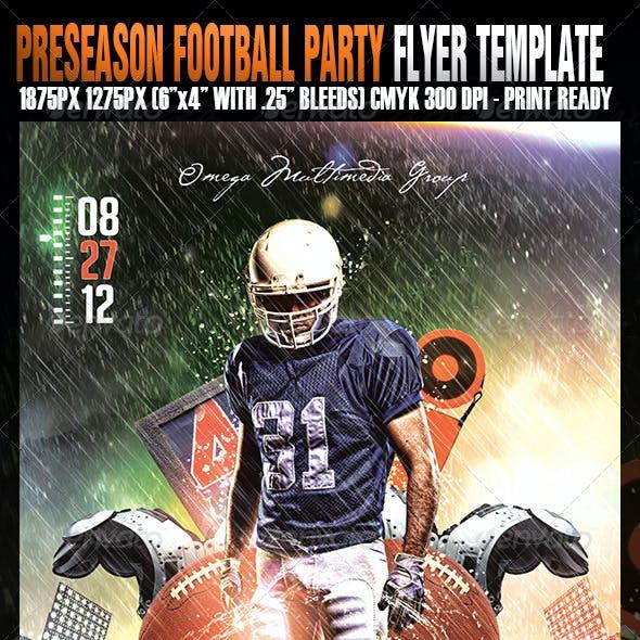 Preseason Football Party