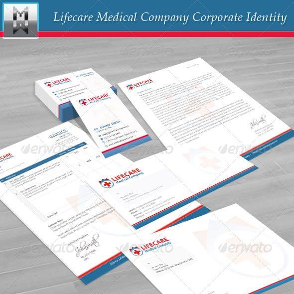 Lifecare Medical Company Corporate Identity