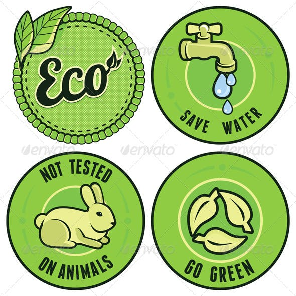 Set with Circle Ecology Labels