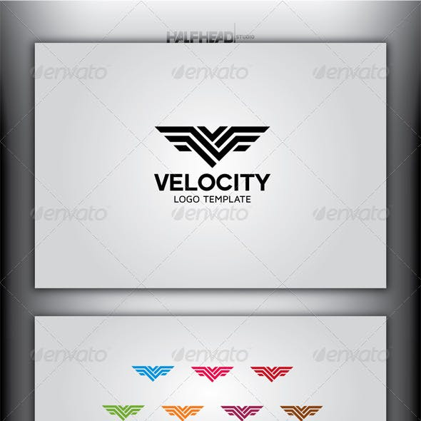 VELOCITY Logo Template