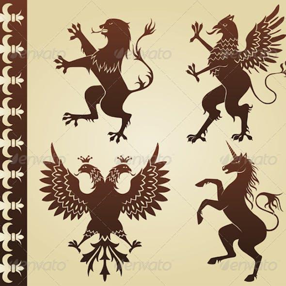 Heraldic Animals