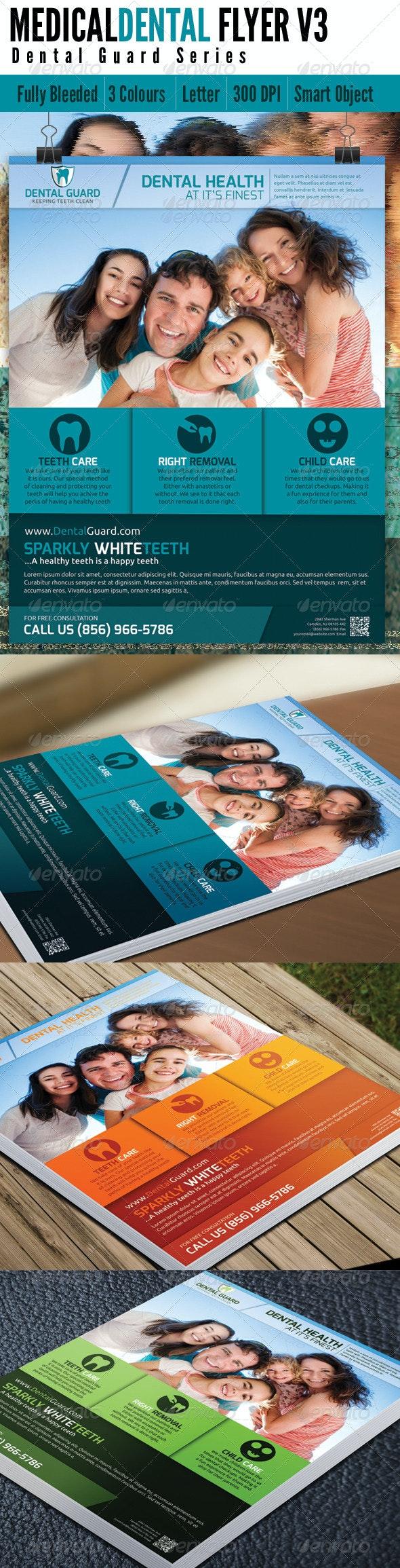Medical Dental Flyer v3 - Corporate Flyers