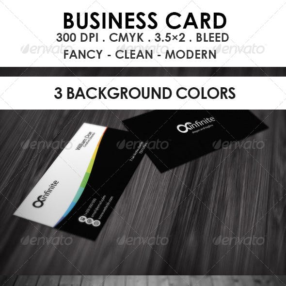Infinite Business Card