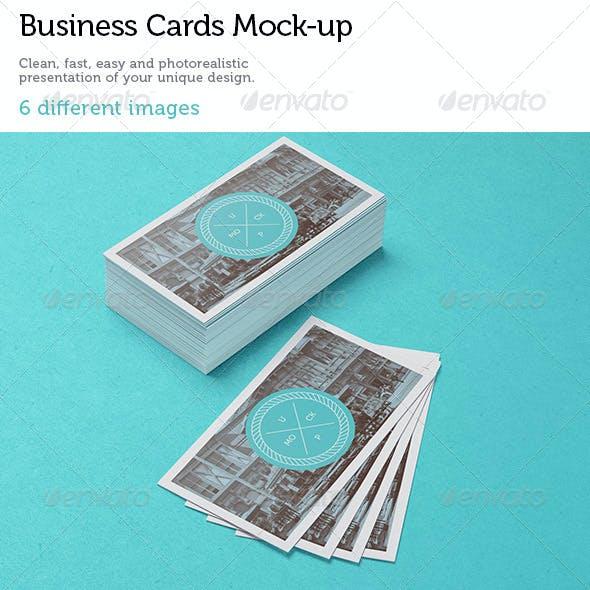 Business Cards Studio Mock-up 3