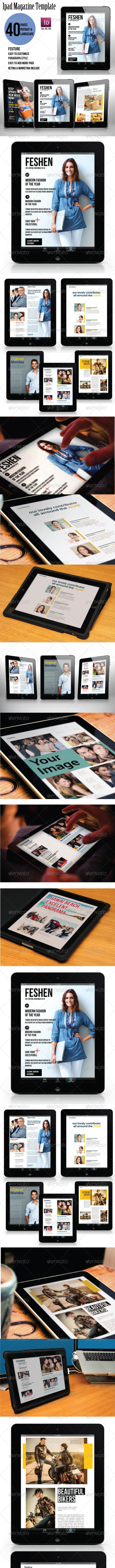 Ipad Magazine Template - Digital Magazines ePublishing