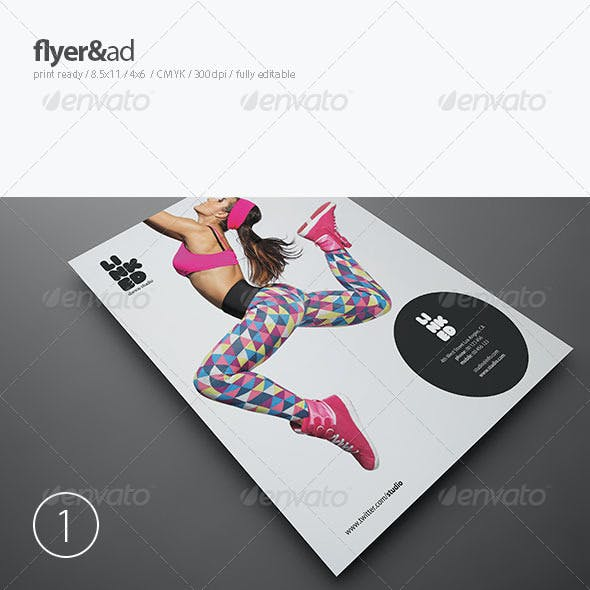 Dance Studio Flyer / Ad
