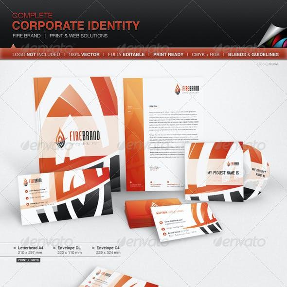 Corporate Identity - Fire Brand