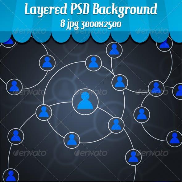 Social Circles Background