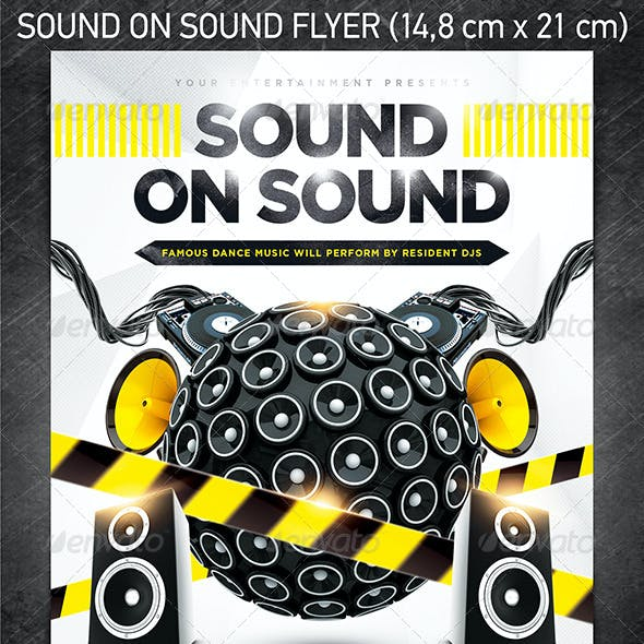Sound On Sound Party Flyer