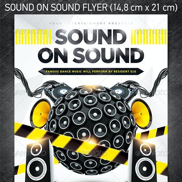 Sound On Sound Party Flyer
