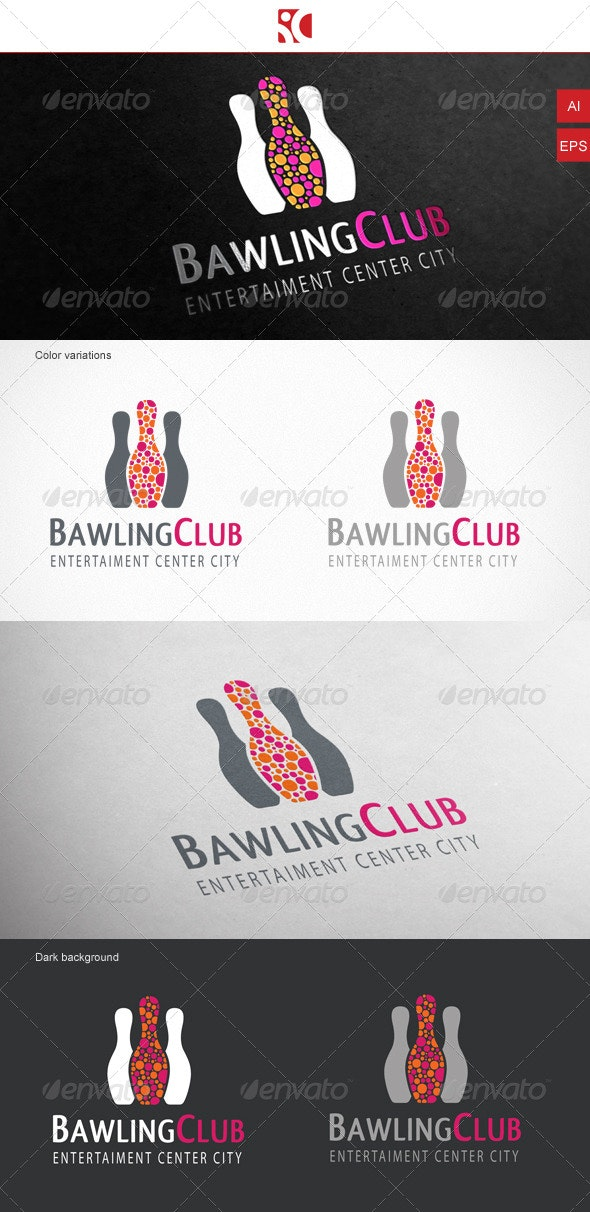 Bawling Club - Logo Template - Objects Logo Templates