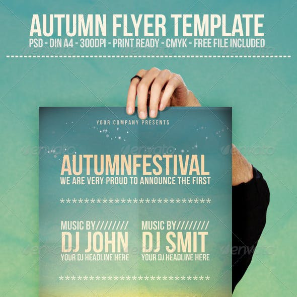 Autumn - Flyer Template