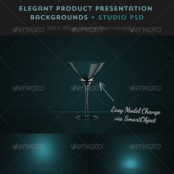 Product Presentation Studio Backgrounds