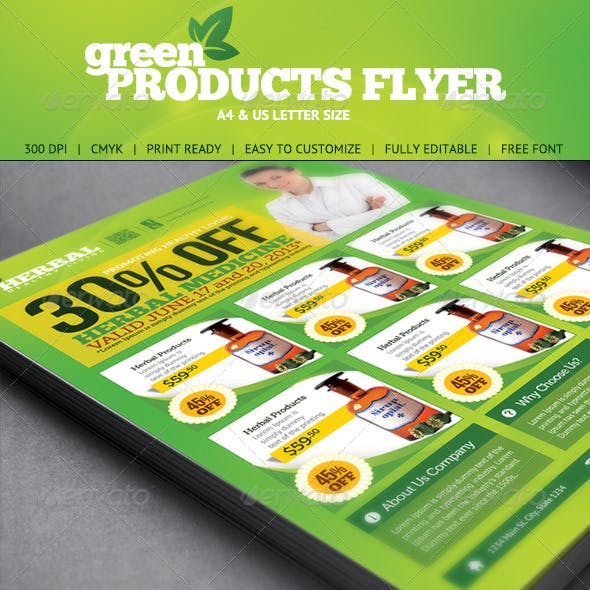 Green Product Flyer