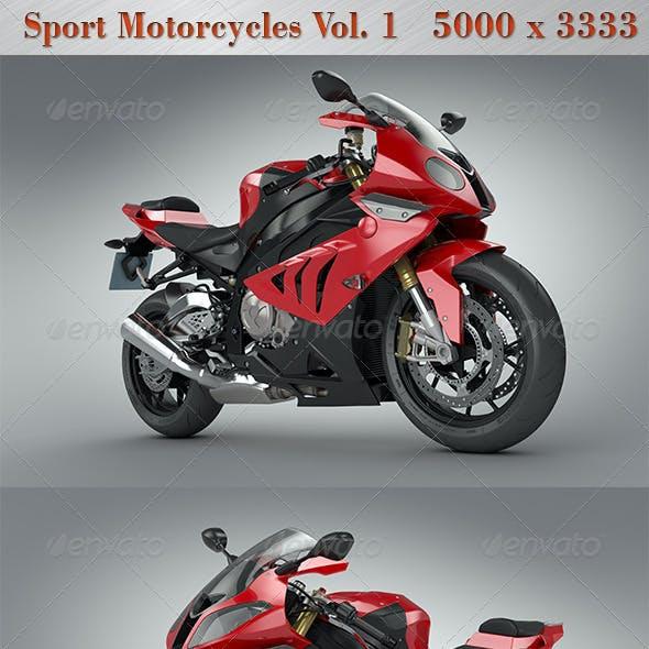 Sport Motorcycles Vol.1