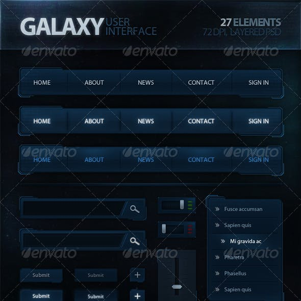 Galaxy User Interface