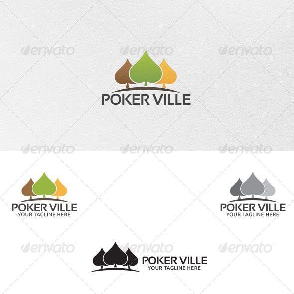 Poker Ville - Logo Template