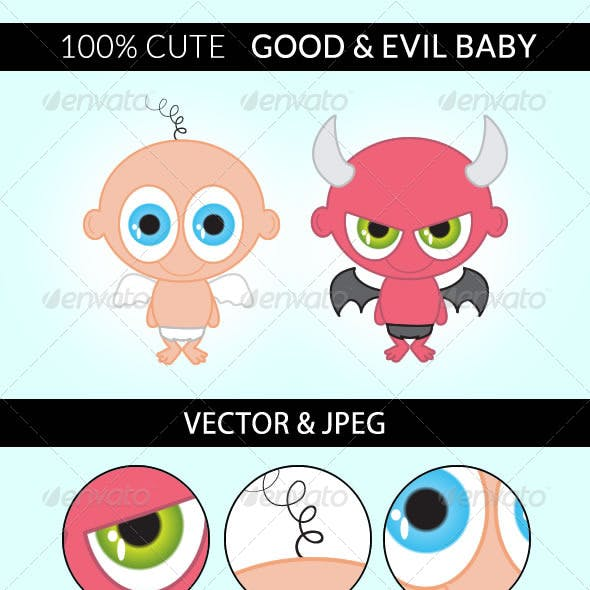 Good and Evil Baby