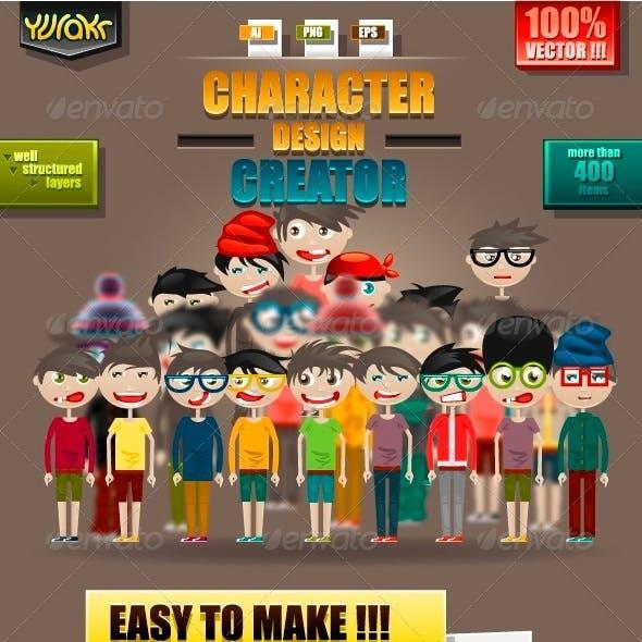 Character Design Creator