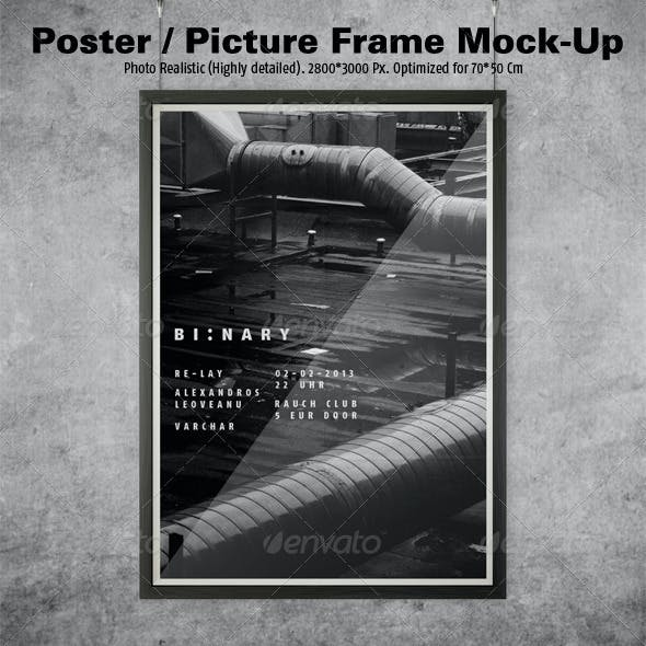 Poster/Picture Frame Mock-ups