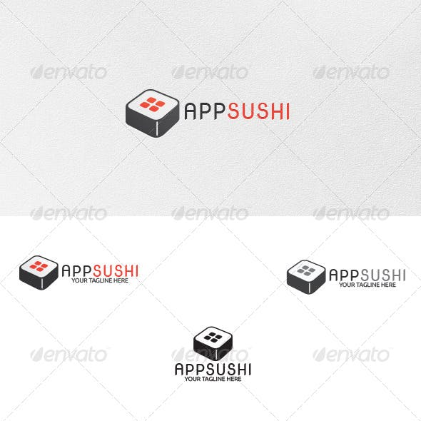 App-Sushi - Logo Template