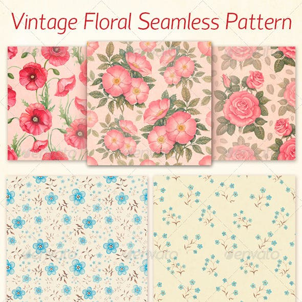 Artistic Seamless Pattern Collection