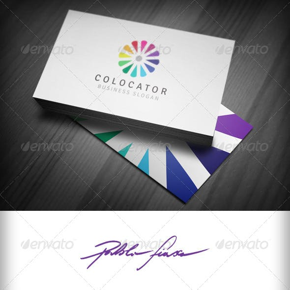 Colour Expert Logo - Interior Design Logo - Swatch
