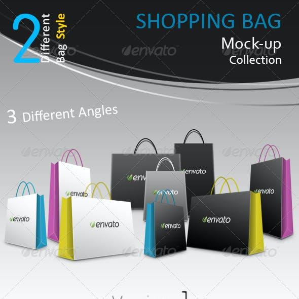 Shopping Bag Mock-Ups Collection