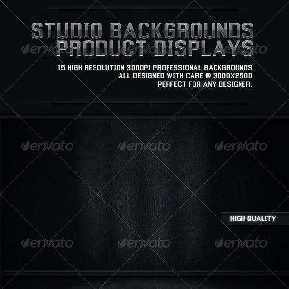 Studio Backgrounds Product Displays