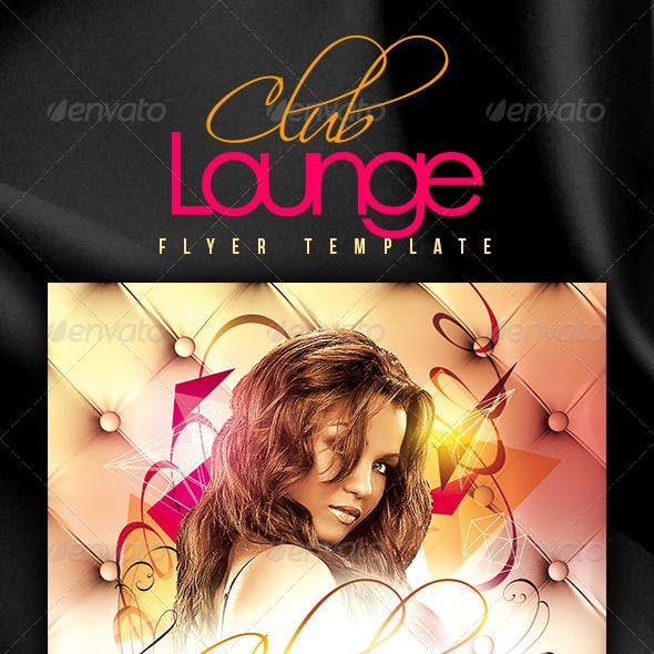 Club Lounge Flyer Template