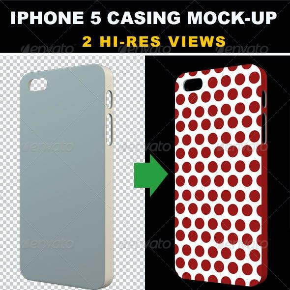 Phone 5 Casing Mock-up