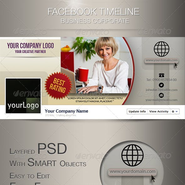 Fb Timeline Business Corporate