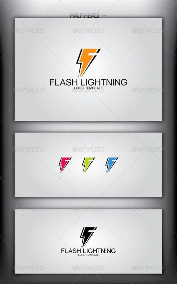 Flash Lightning Logo Template Letters Templates