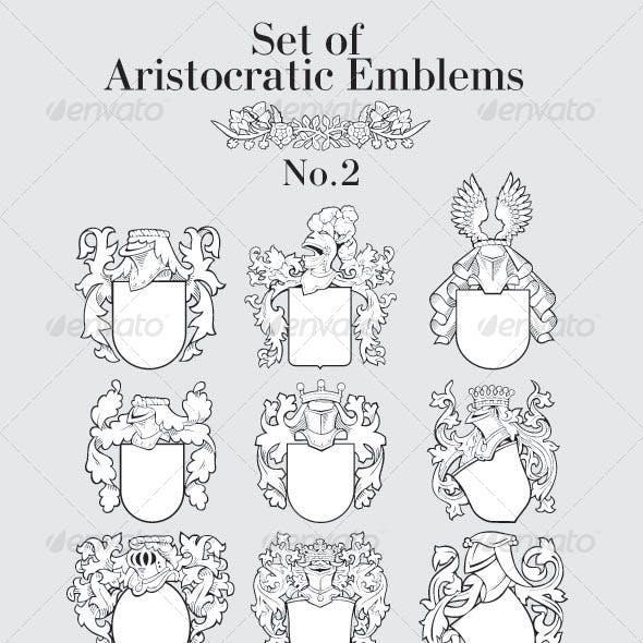 Set of Aristocratic Emblems No2