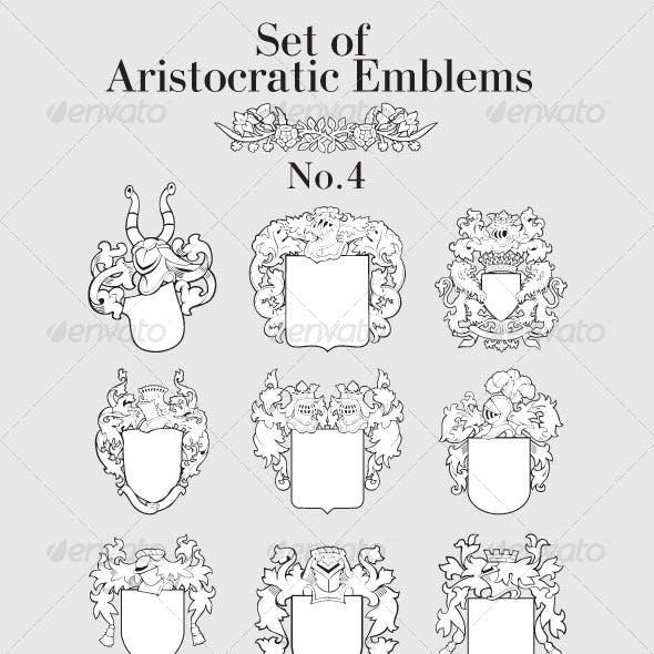 Set of Aristocratic Emblems No4