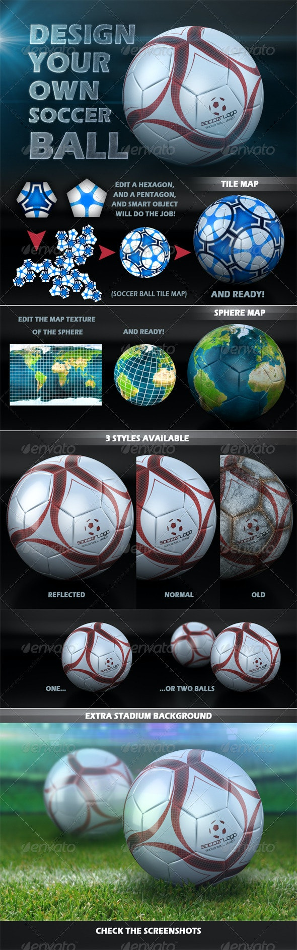 Soccer Ball Design Creator - Miscellaneous Print