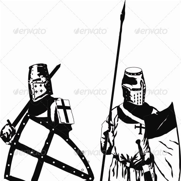 Two Knights Templars